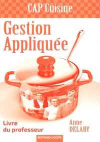 Galabria.be Gestion appliquée CAP cuisine - Livre du professeur Image