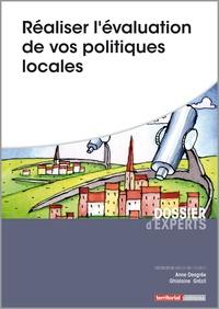 Réaliser l'évaluation de vos politiques locales - Anne Desgrée pdf epub