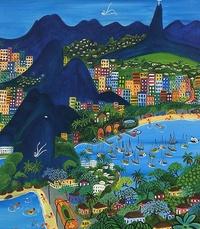 Anne Devroye-Stilz - Bacchanales brésiliennes : Bachianas brésiliennes - Hommage au Museu Internacional de Arte Naïf do Brasil, Rio de Janeiro.