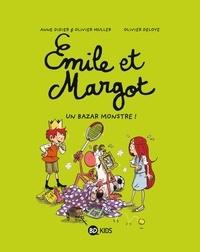 Anne Didier et Olivier Muller - Émile et Margot, Tome 03 - Un bazar monstre.