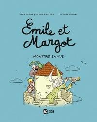 Olivier Deloye et Anne Didier - Émile et Margot, Tome 08 - Monstres en vue !.