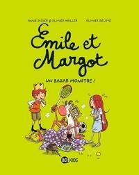 Anne Didier et Olivier Muller - Emile et Margot Tome 3 : Un bazar monstre !.