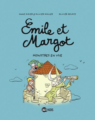 Emile et Margot Tome 8 Monstres en vue