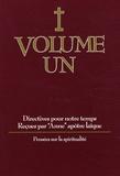 Anne - Directives pour notre temps - Volume 1, Pensées sur la spiritualité.