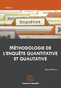 Anne Discry - Méthodologie de l'enquête quantitative et qualitative.