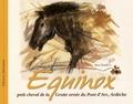 Anne Douillet - Equinox, petit cheval de la grotte ornée du Pont d'Arc, Ardèche.