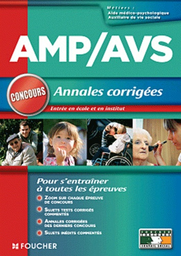 Anne Ducastel - AMP/AVS annales corrigées.