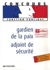 Anne Ducastel et Olivier Berthou - Gardien de la paix-adjoint de sécurité.
