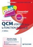 Anne Ducastel - QCM d'entrée dans la fonction publique - Tous concours.