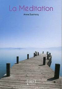 La méditation - Anne Ducrocq pdf epub