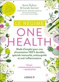 Anne Dufour et Carole Garnier - Le régime one health (= une seule santé).