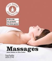 Anne Dufour et Alix Leduc - Massage.