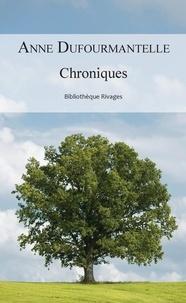 Anne Dufourmantelle - Chroniques.