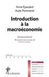 Anne Epaulard et Aude Pommeret - Introduction à la macroéconomie.
