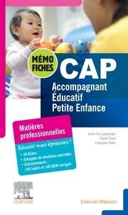 Anne-Eva Lebourdais et Cécile Payet - CAP Accompagnant éducatif petite enfance - Mon bloc-notes.