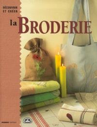 Anne Fabre et Aurélia Cérulei - La broderie.