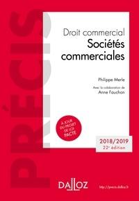 Télécharger le livre complet pdf Droit commercial. Sociétés commerciales  . Édition 2018-2019 par Anne Fauchon
