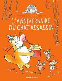 Anne Fine et Véronique Deiss - L'anniversaire du chat assassin - tome 4.