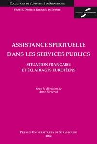 Anne Fornerod - Assistance spirituelle dans les services publics - Situation française et éclairages européens.