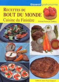 Anne-France Deflou - Recettes du bout du monde - Cuisine du Finistère.