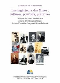 Anne-Françoise Garçon et Bruno Belhoste - Les ingénieurs des Mines : cultures, pouvoirs, pratiques - Colloque des 7 et 8 octobre 2010.
