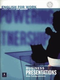 Anne Freitag-Lawrence - Business presentations. 1 CD audio