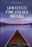 Anne Fremaux - La nécessité d'une écologie radicale.