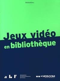 Anne-Gaëlle Gaudion et Nicolas Perisse - Jeux vidéo en bibliothèque.