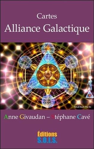 Anne Givaudan et Stéphane Cavé - Cartes Alliance Galactique - Contient un livret et des cartes.