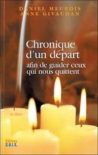 Chronique d'un départ - Anne Givaudan |