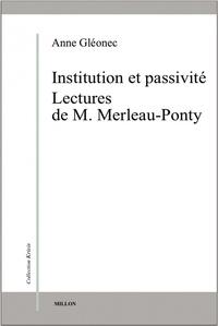 Institution et passivité - Lectures de M. Merleau-Ponty.pdf