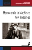 Anne Goarzin et Cliona Ni Riordain - Memoranda to MacNeice: New Readings.