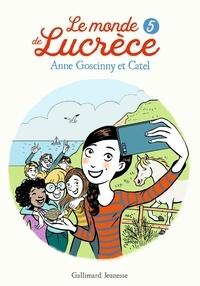 Anne Goscinny et  Catel - Le monde de Lucrèce Tome 5 : .