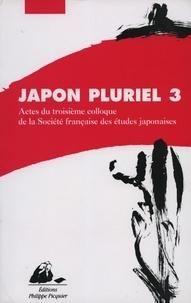 Era-circus.be Japon pluriel 3 - Actes du troisième colloque de la Société française des études japonaises Image