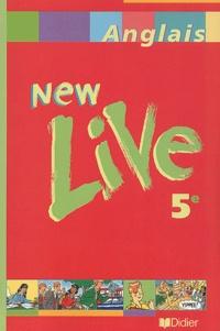 Livre Pdf Anglais 5eme New Live