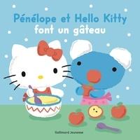 Anne Gutman - Pénélope et Hello Kitty font un gâteau.