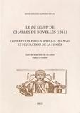 Anne-Hélène Klinger-Dollé - Le De sensu de Charles de Bovelles (1511) - Conception philosophique des sens et figuration de la pensée.
