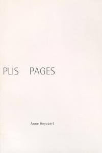 Anne Heyvaert - Plis pages.