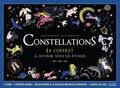 Anne Jankéliowitch - Constellations - Avec 1 poster géant, 130 stickers et 12 étoiles phospho, 1 carte du ciel.