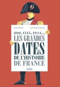 Anne Jonas et Léonard Dupond - Les grandes dates de l'histoire de France - 800, 1515, 1944....