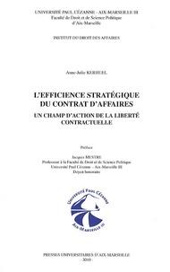 Corridashivernales.be L'efficience stratégique du contrat d'affaires - Un champ d'action de la liberté contractuelle Image