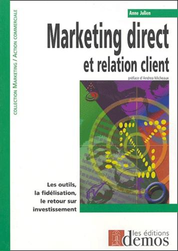 Anne Julien - Marketing direct et relation client.