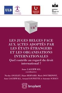 Anne Lagerwall - Les juges belges face aux actes adoptés par les états étrangers et les organisations internationales - Quel contrôle au regard du droit international ?.