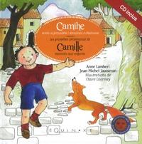 Anne Lambert et Jean-Michel Jausseran - Les proverbes provencaux de Camille racontés aux enfants. 1 CD audio