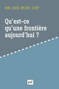 Satt2018.fr Qu'est-ce qu'une frontière aujourd'hui ? Image