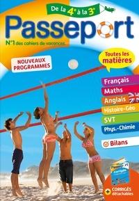 Anne-Laure Chat et Laurent Bonnet - Passeport Toutes les matières de la 4e vers la 3e.