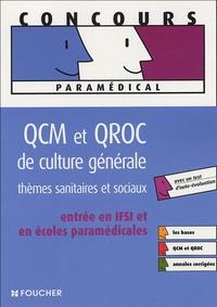 QCM et QROC de culture générale - Thèmes sanitaires et sociaux.pdf