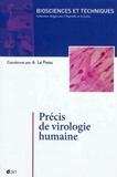 Anne-Laurence Le Faou - Précis de virologie humaine.