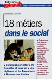 Anne Le Bihan - 18 métiers dans le social.