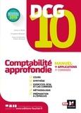 Anne Le Manh et Elisabeth Walliser - DCG 10 Comptabilité approfondie - Manuel + applications + corrigés.